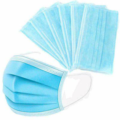 50PCS Anti Virus Disposable Maskers Medisch Masker Chirurgisch Salon griepmasker