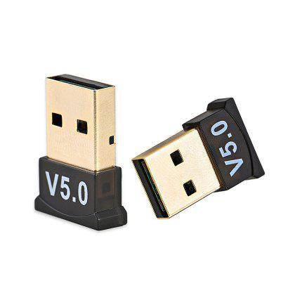 Wireless 5.0 Bluetooth De Ontvanger Zender USB Adapter voor desktop PC Laptop