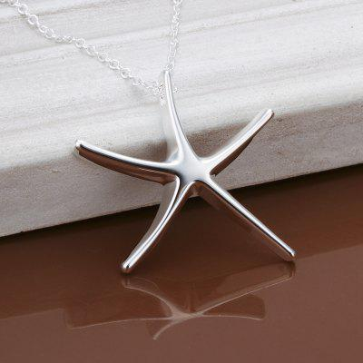 Sea Star Pendant Trade Classic Silver Pendant (Without Chain)