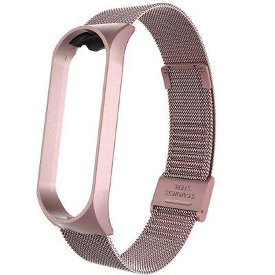 Watch Band for Mi Band 4 Xiaomi Classic Buckle Stainless Steel Wrist Strap