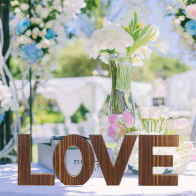 170302 Home Accessories Wedding Love Party Accessories (4 Sets)