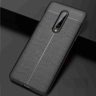 Tekstury skóry Carbon Fiber Phone Case forOne Plus 8