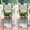 I126832 Wedding Decoration Chair Pendant (2 Sets) - BURLYWOOD