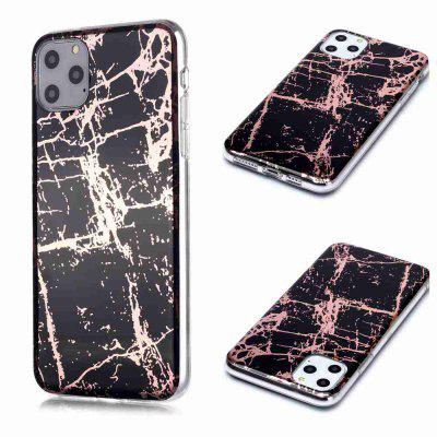 Galwanicznie Marmur Process Phone Case for iPhone 11 Pro Max