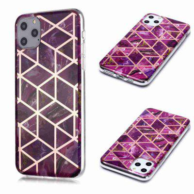 Gegalvaniseerd Marble Process Phone Case voor iPhone 11 Pro Max
