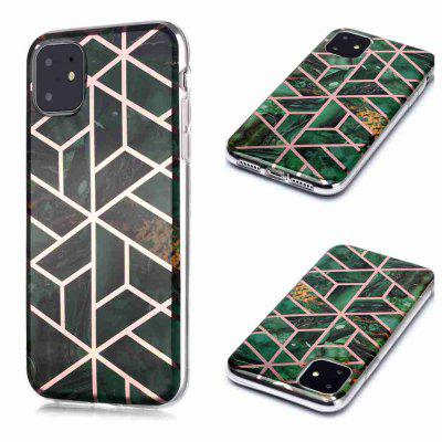 Gegalvaniseerd Marble Process Phone Case voor iPhone 11 Pro