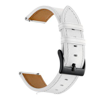 Watch Band for Vivoactive 3 Garmin Classic Buckle Leather Wrist Strap