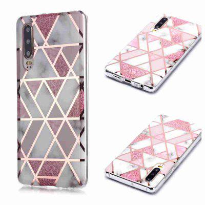 Electroplated Marble Process Phone Case for Huawei P30