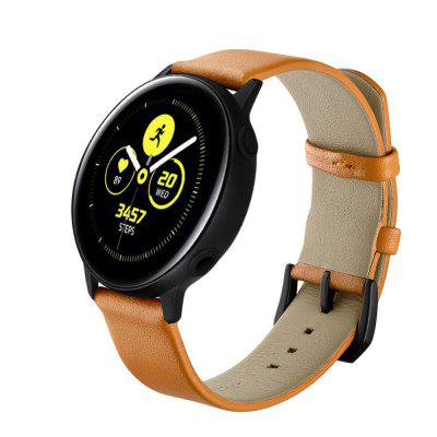 20mm Leather Starp for Samsung Galaxy Watch 42mm Wrist Strap