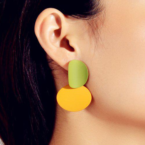 Funny Face Shape Hollow Out Women Earrings Fashion Earrings With Rhinestone NZ