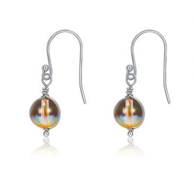 S925 Stylish Colorful Hoop Earrings