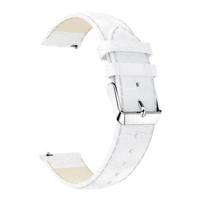20mm Leather Strap for Amazfit GTS Xiaomi Metal Buckle Bracelet