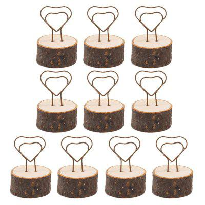 130103A Business Card Clip Home Decoration Photo Iron Clip Accessories (10 Sets)