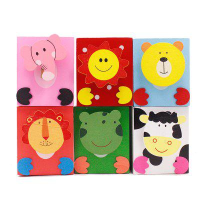 120105 Cartoon Pen Holder Learning Supplies (6 Sets)