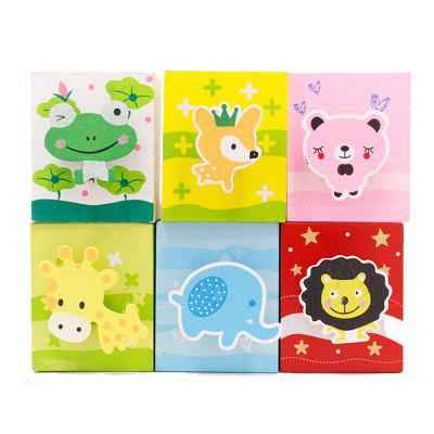 12014 Stationery with Cartoon Pen Holder (6 Sets)