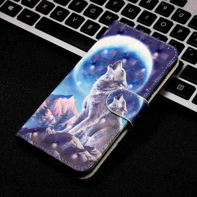 3D Painted PU Phone Case voor Samsung Galaxy S20 Ultra