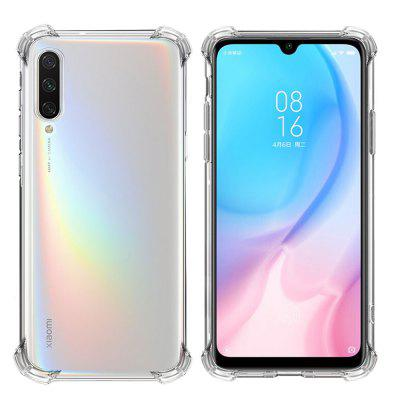 Mrnorthjoe Shockproof Armor Clear Back Phone Case Cover for Xiaomi Mi A3
