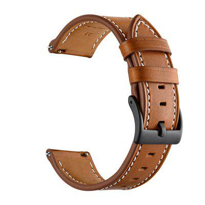 Watch Band for Amazfit GTS Xiaomi Classic Buckle Leather Wrist Strap