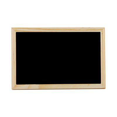 140118 Handicraft Wood Frame Double Sided Blackboard (2 Sets)