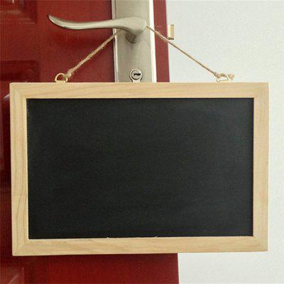 140117 wood frame single-sided blackboard 30x20cm black (2 sets)