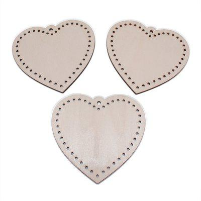 140109 Heart Shaped Small Pendant Home Decoration (100 Pieces)