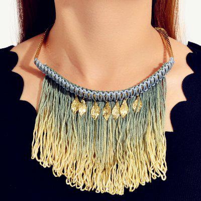 Fashionable Golden Boho Long Necklace