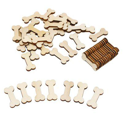 141003 Wooden Bone Modeling Hand Accessories (100 Sets)