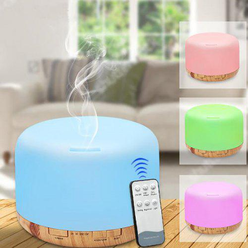 Wilk Car Humidifier with USB Charger Essential Oil Aroma Diffuser Cool Mist Mini 1pc Blue