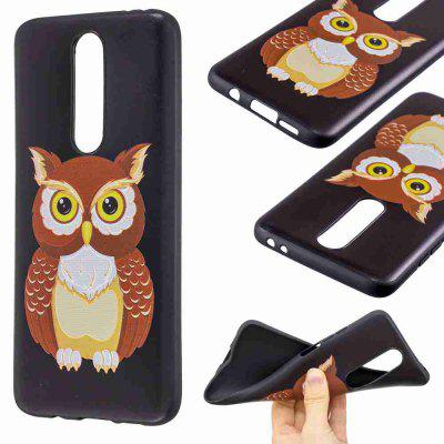 Relief Painted TPU Phone Case for Xiaomi Redmi K30