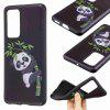 Relief Painted TPU Phone Case for Huawei P40 - MULTI-B