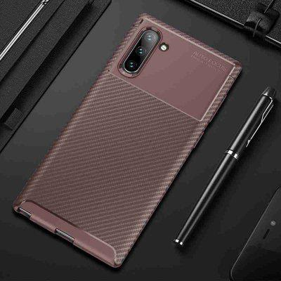 Beetle Carbon Fiber τηλέφωνο υπόθεση για Samsung Galaxy Note 10