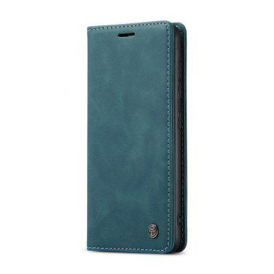CaseMe Retro Leather Wallet Flip Phone Case Card Holder for Samsung S20