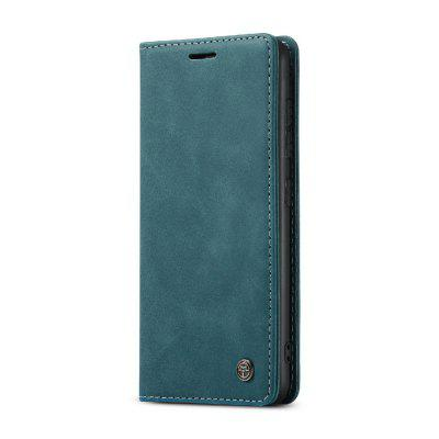 CaseMe Retro Leather Wallet Flip Phone Case Card Holder for Samsung S20 Plus