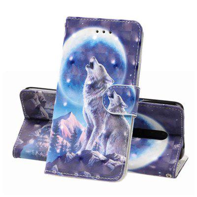 3D Painted PU Phone Case for One Plus 7 Pro