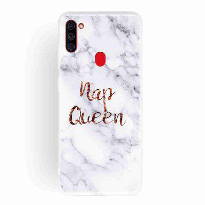 Frosted TPU Marble Painted Phone Case for Samsung Galaxy A11