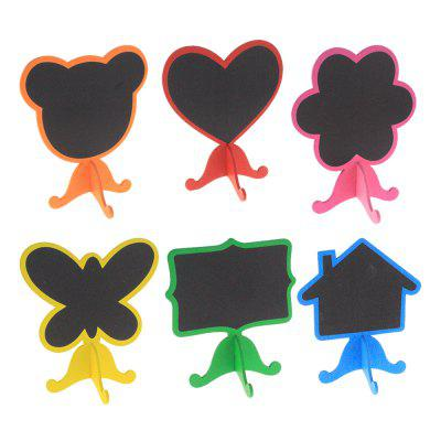 120112 Factory Direct de vânzare Cute Mini Blackboard Consiliul de imagine (60 seturi)