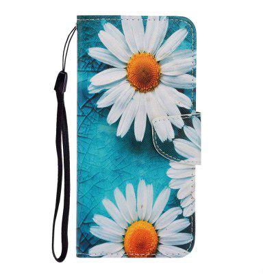 Cross Pattern Painting PU Phone Case for Samsung Galaxy S20 Ultra
