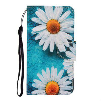 Cross Pattern Painting PU Phone Case for Samsung Galaxy A10 / M10