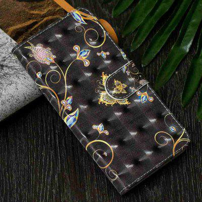 3D Painting PU Phone Case for Samsung Galaxy A20 / A30