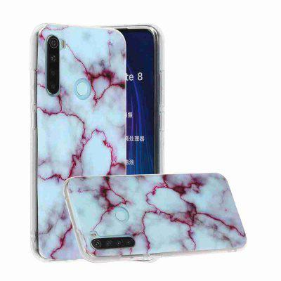 TPU Marble Painted Phone Case for Xiaomi Redmi Note 8