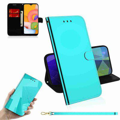 Pure Color Like Mirror Phone Case for Samsung Galaxy A01