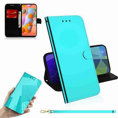 Pure Color Like Mirror Phone Case for Samsung Galaxy A11