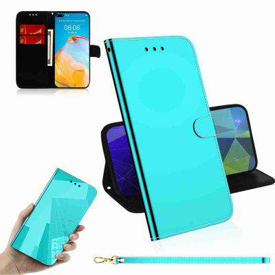 Pure Color Like Mirror Phone Case for Huawei P40