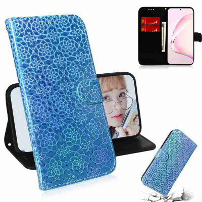 Solid Color Dazzling Phone Case for Samsung Galaxy Note10 Lite /A81