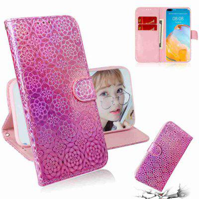 Solid Color Dazzling Phone Case for Huawei P40