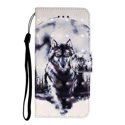 3D Painted PU Phone Case for Samsung Galaxy S20 Plus