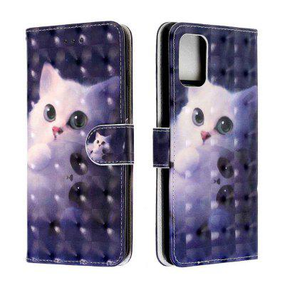 3D Painted PU Phone Case for Samsung Galaxy A51