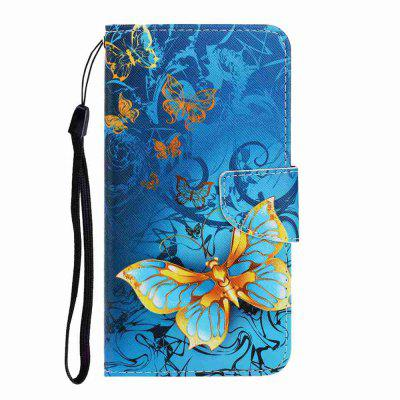 Cross Pattern Painting PU Phone Case for Iphone 11