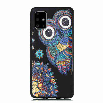 Painted TPU Phone Case for Samsung Galaxy A51/M40S