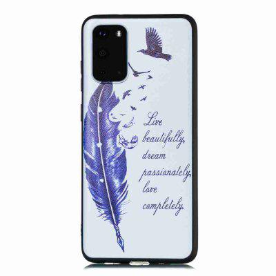 Painted TPU Phone Case for Samsung Galaxy S20